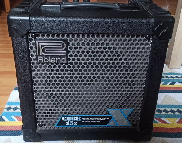 Amplificador guitarra Roland Cube 15x 18W