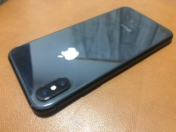 Apple iPhone X 256GB Space Gray Neverlock /Магазин/с США/Оригинал