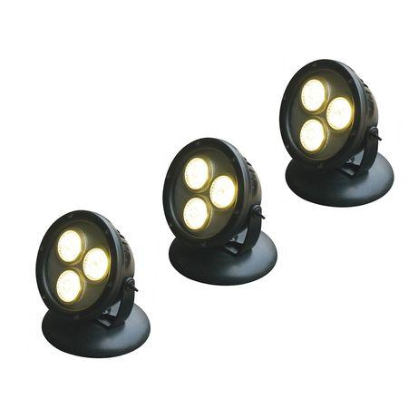 Reflektor LED potrójny HP12-3