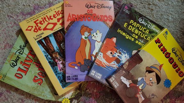 Livros Disney clássicos