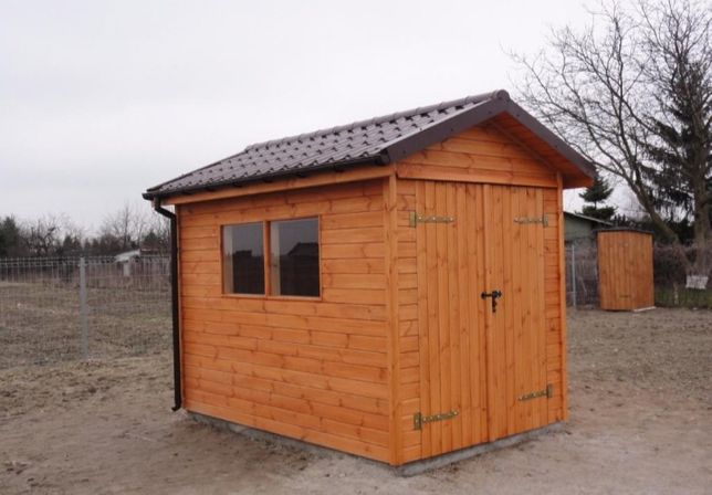 PROMO -33% Domek Narzędziowy (SAUNA ogrodowy gołębnik kurnik drewutnia