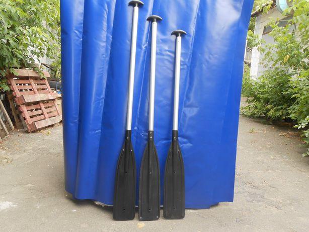 Весло,вёсла 1,5 м.(чер) для рафтинговых сплавов 35/1,0 мм.,анод(15мкр)