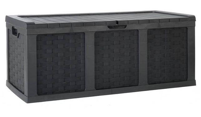 Skrzynia pojemnik ogrodowy polirattan 634L MCGREGOR