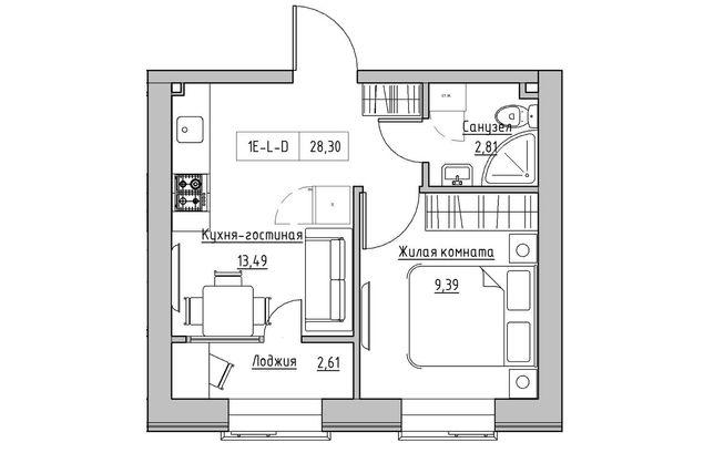 Продам однокомнатную квартиру в Рассрочку на 54 месяца с Ремонтом