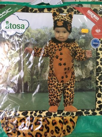 Roupa carnaval Leopardo