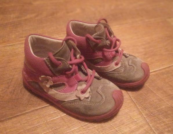 Продамдемисезонные ботинки SUPERFIT (как Ecco, Экко), 24 размер