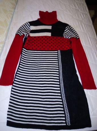 Платье - свитер 44 размера 30 грн.