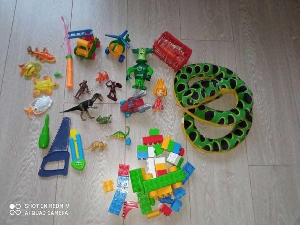 Игрушки для мальчиков одним лотом