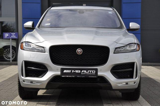 Jaguar F-Pace R Sport 3.0 V6 Benzyna 340 KM AWD II Właściciel