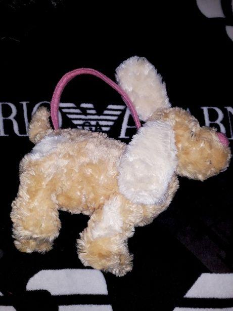 Мягкая игрушка собака собачка сумочка сумка