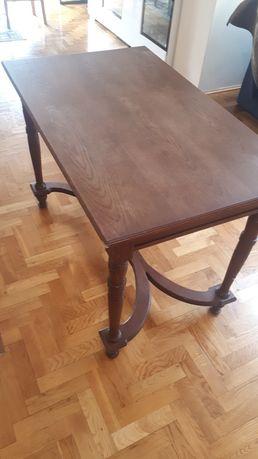 Stół drewniany przedwojenny