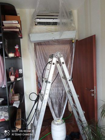 Установка,монтаж,чистка,мойка,ремонт кондиционеров. Днепр