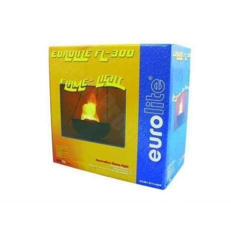 Eurolite- FL-300 płomień świetlny 35cm znicz