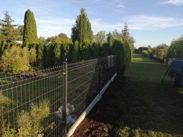 Montaż ogrodzeń panelowych,palisadowych, bram i furtek