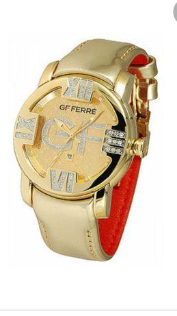 Брендовые часы с бриллиантами GF Ferre Швейцария.