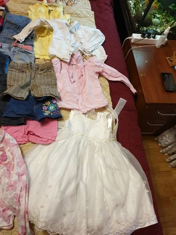 Набор вещей на девочку 3-5 лет