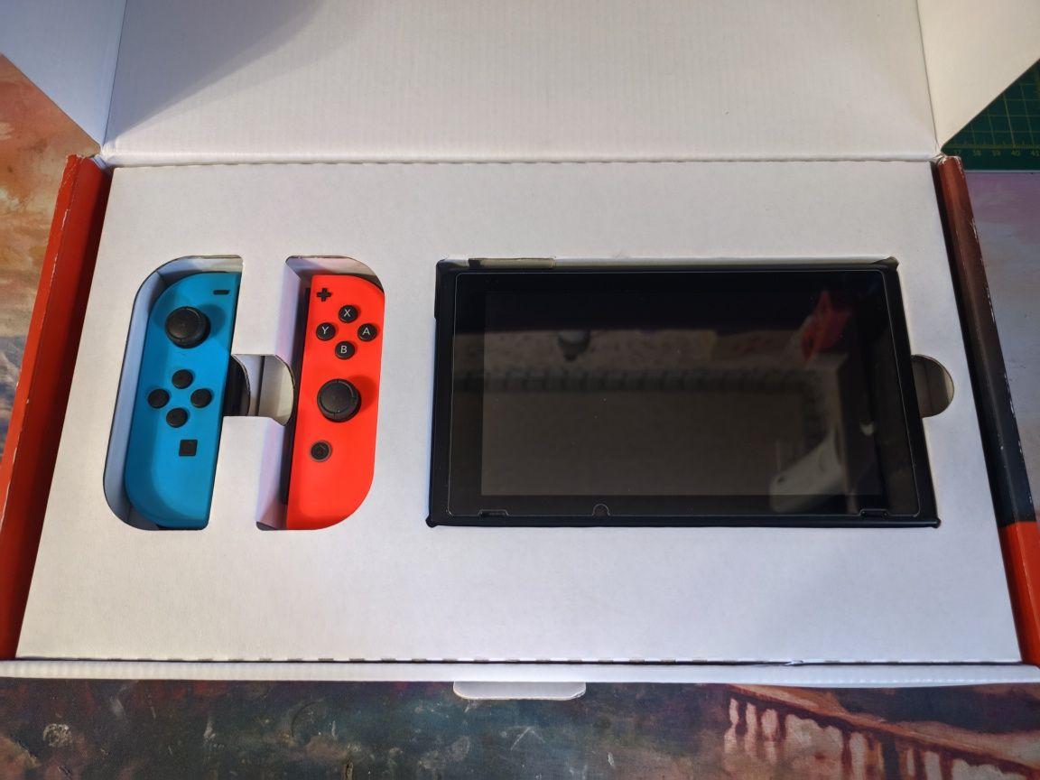 Nintendo Switch с временной прошивкой и играми