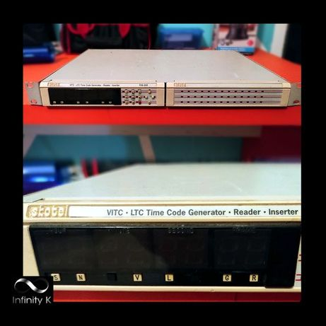 SKOTEL TCG-333 - LTC, VITC Generator (Gerador de TimeCode)