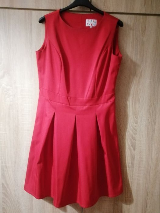 Czerwona sukienka Wałcz - image 1