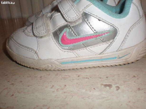 Śliczne Buty Nike roz.25.5 dziewczęce skóra