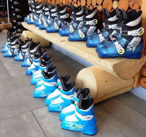 Pakiet butów narciarskich Salomon junior, buty narciarskie, 70 zł