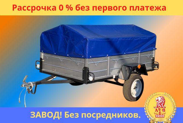 НОВЫЙ ЛЕГКОВОЙ ПРИЦЕП с завода в рассрочку без %. Документы