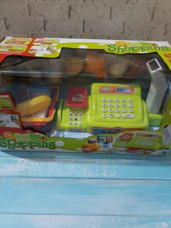 Кассовый аппарат, детские игрушки