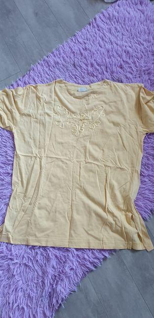 Koszulka t-shirt żółta