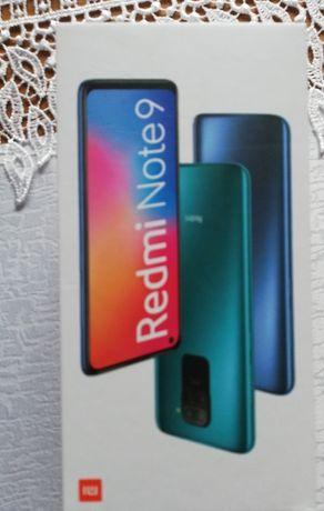 redmi note 9 midnight grey 64 GB Nowy