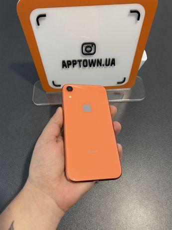 Iphone XR 128GB Coral Neverlock/Гарантия/Магазин/Рассрочка