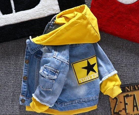 Крутая джинсовка для маленьких модников Джинсовая куртка