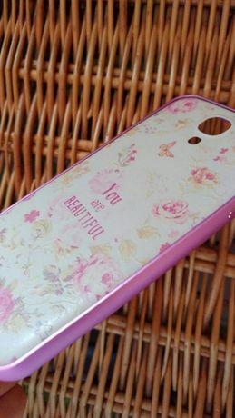 Чехол бампер защитное стекло Samsung Galaxy S4