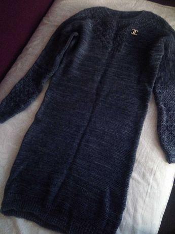 Вязаное платье. Очень классное!.