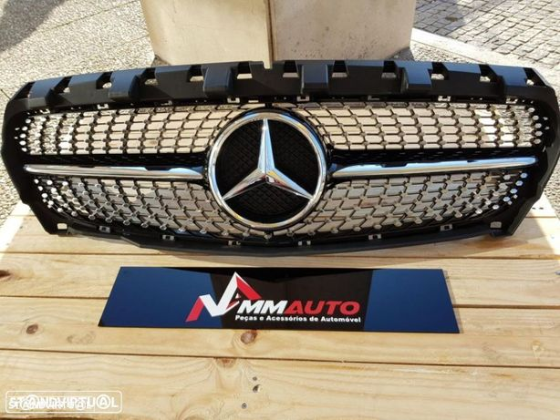 Grelha Diamond Mercedes CLA