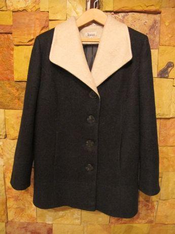 Kurtka,płaszcz zimowy damski r 46 wełna