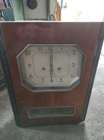Ретро часы Янтарь СССР механика