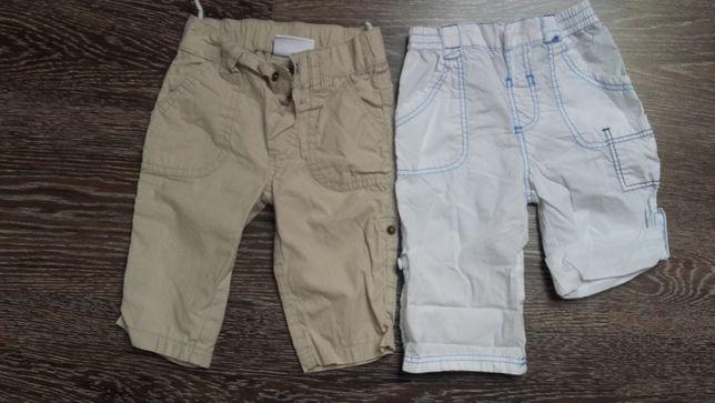 Spodnie r. 62 cm /2 pary w cenie 8 zł
