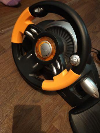 Игровой руль Genius Speed Wheel 3 MT с педалями