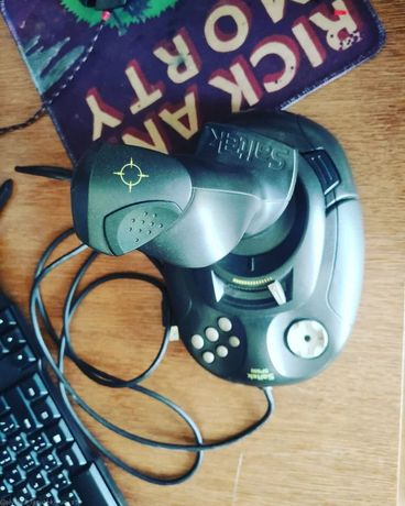 Продам винтажный игровой манипулятор Saitek SP550, состояние шикарное
