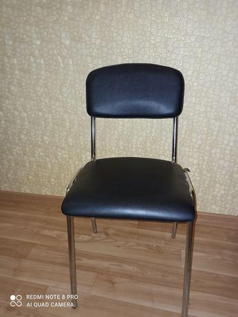 Офисный стул, хромированные