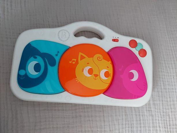 Świecąca grająca zabawka dla niemowląt z pudełkiem Btoys