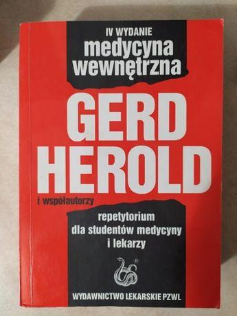 Medycyna Książka Medycyna wewnętrzna Gerd Herold wydanie 4