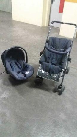 Carrinho e Ovo da marca bebé Confort com capa removível