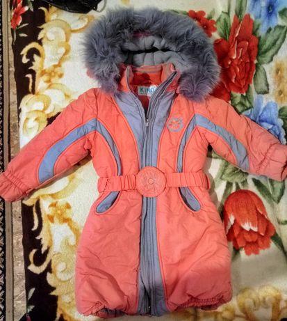 Зимнеепальто Kilo кико 104-110