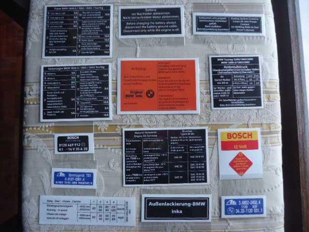 autocolantes bmw 1602 bmw 2002