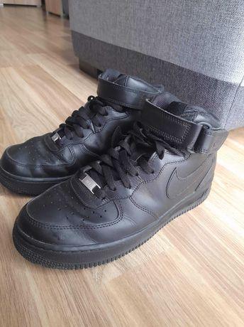 Nike Air Force 1 mid czarne
