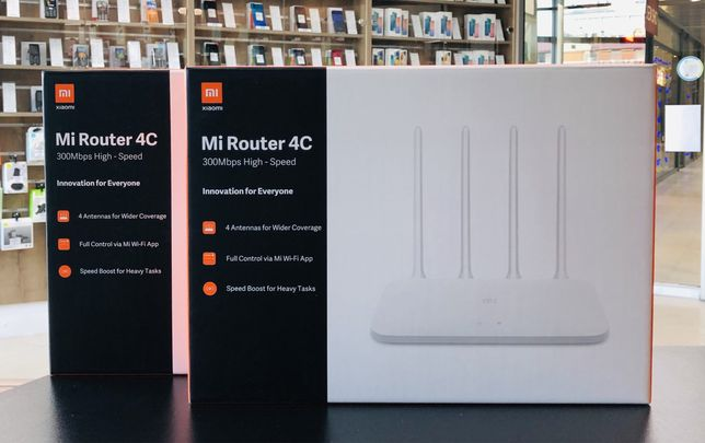 Xiaomi Mi WiFi Router 4C Global + ГОД ГАРАНТИЯ