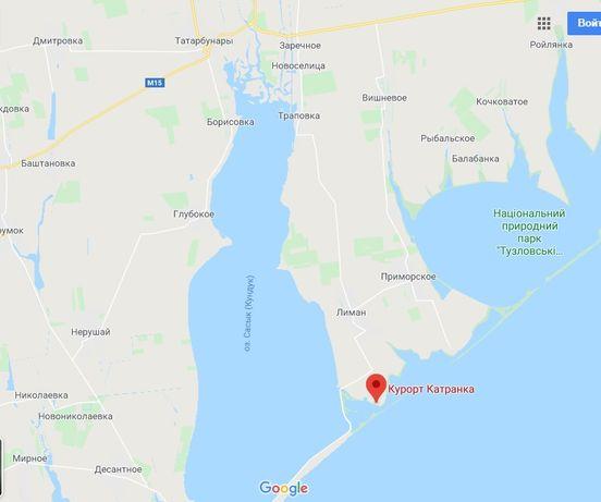 Продажа участка 4 сотки, 500 м от моря - база отдыха Катранка, Одесско