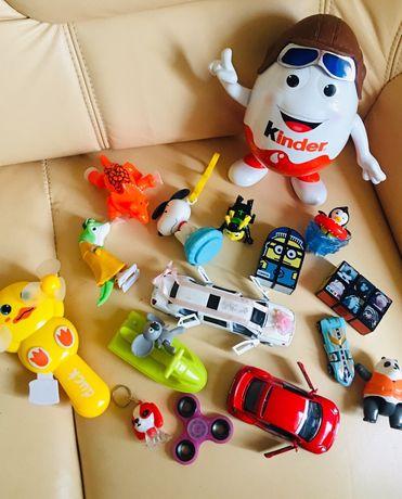 Игрушки, машинки, спиннер