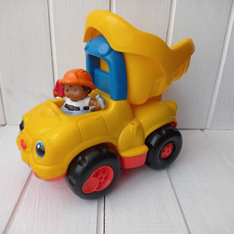 Машинка грузовик самосвал Fisher price машина детский транспорт